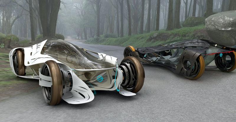 L.A. Design Challenge: 1000 lb car: - fotka 46