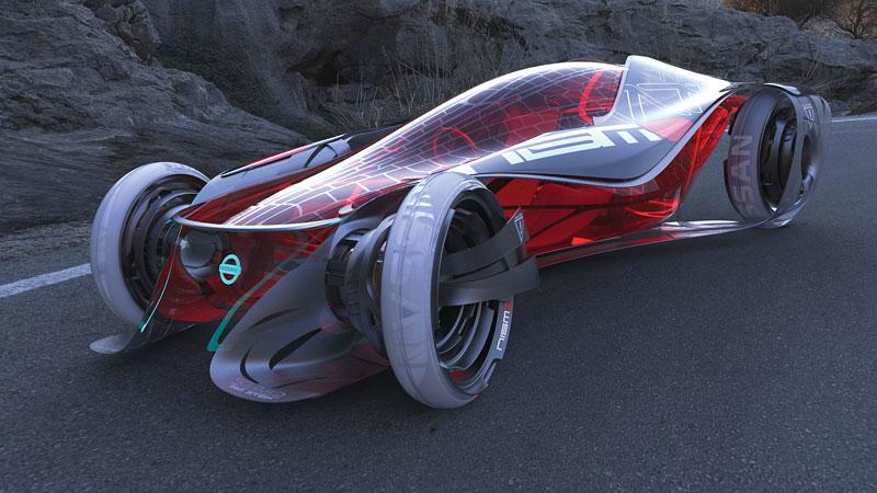 L.A. Design Challenge: 1000 lb car: - fotka 47