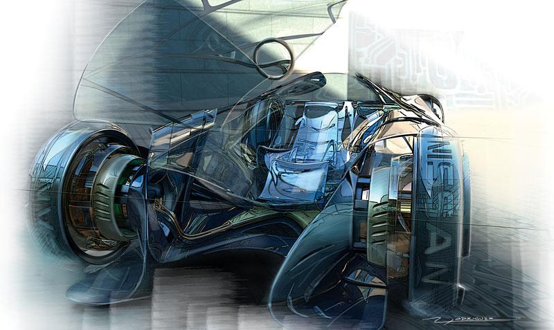 L.A. Design Challenge: 1000 lb car: - fotka 49