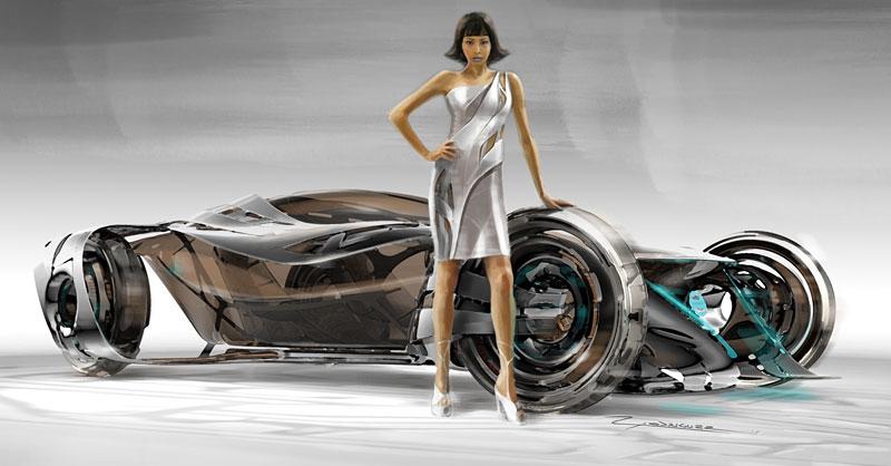 L.A. Design Challenge: 1000 lb car: - fotka 50