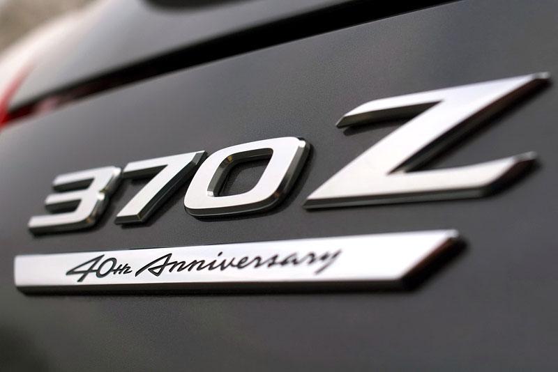 Nissan 370Z Black Edition: výroční model pro Evropu: - fotka 12