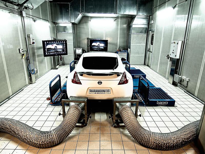 Marangoni 370 Z-Hydro: tuning pod hlavičkou výrobce pneumatik: - fotka 38