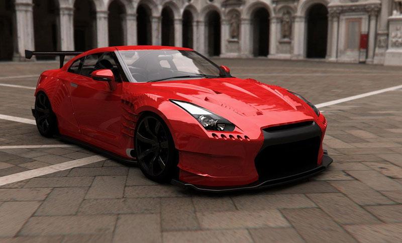 BenSopra: 1000 koní pro Nissan GT-R: - fotka 3