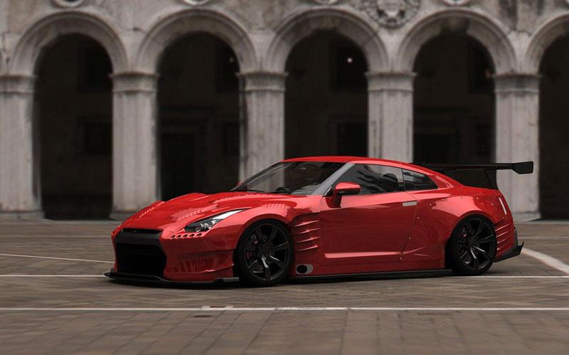 BenSopra: 1000 koní pro Nissan GT-R: - fotka 4