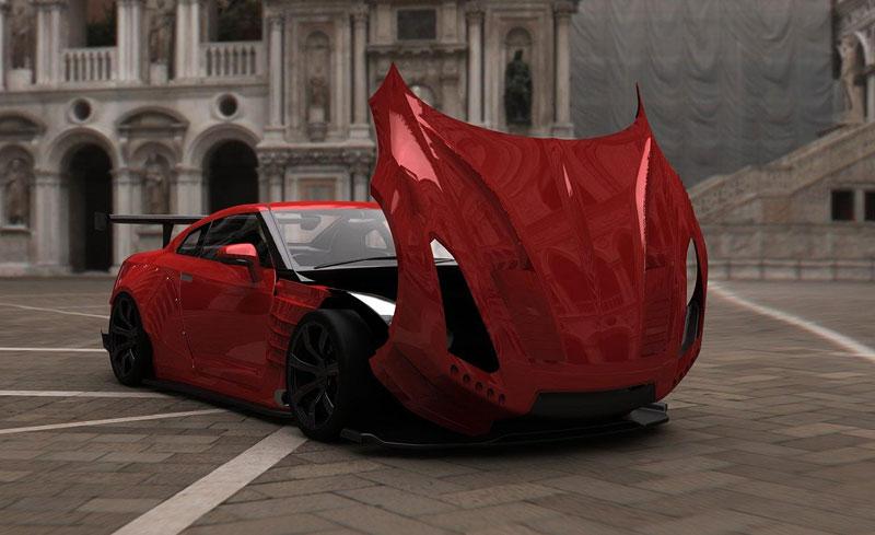BenSopra: 1000 koní pro Nissan GT-R: - fotka 5