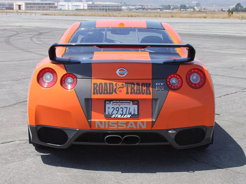 Stillen Nissan GT-R: 620 koní pro Targa Rally: - fotka 18