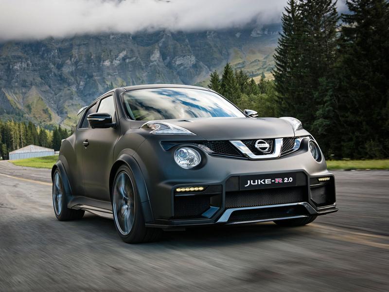 Řídili jsme Nissan Juke-R 2.0, crossover za 13,5 milionu korun (+video): - fotka 11