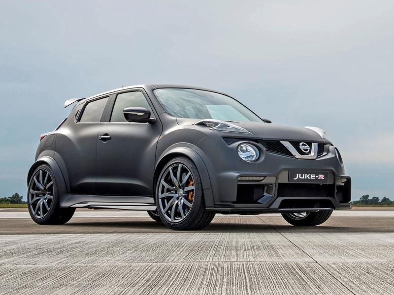 Nissan Juke-R 2.0 vznikne v limitované sérii (+video): - fotka 3