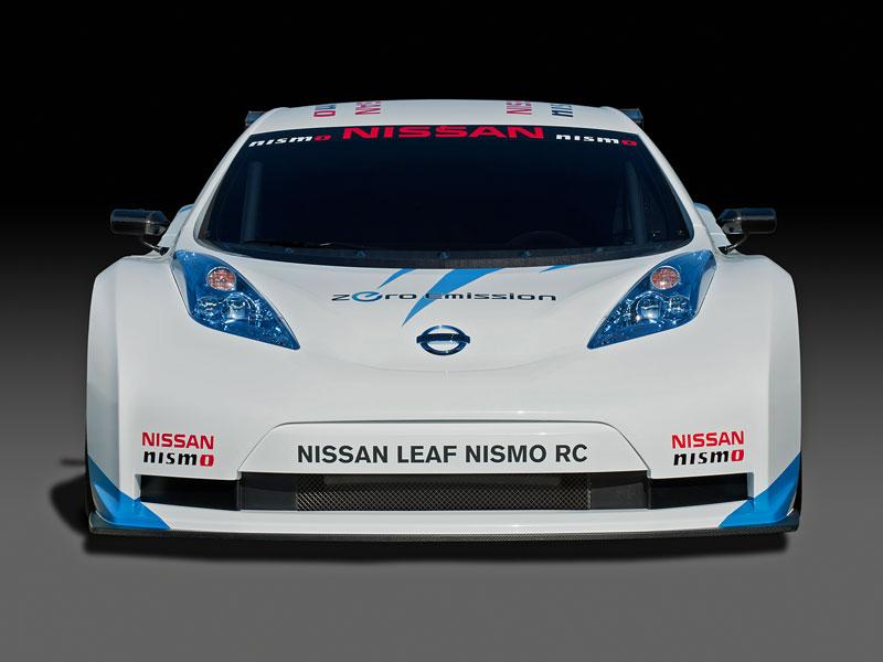 Nissan Leaf NISMO RC: elektrický závoďák: - fotka 5