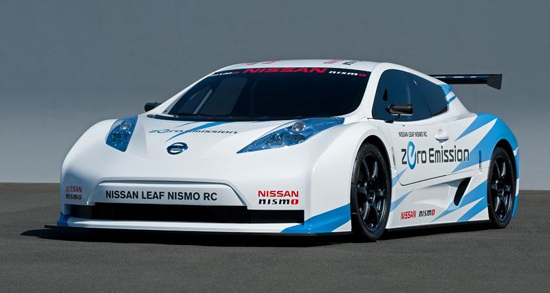 Nissan Leaf NISMO RC: elektrický závoďák: - fotka 6