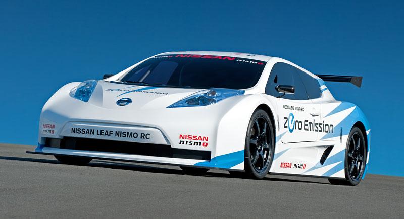 Nissan Leaf NISMO RC: elektrický závoďák: - fotka 7
