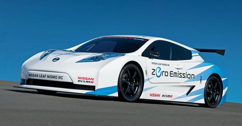 Nissan Leaf NISMO RC: elektrický závoďák: - fotka 9