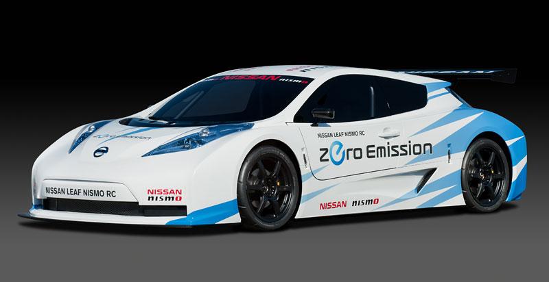 Nissan Leaf NISMO RC: elektrický závoďák: - fotka 11