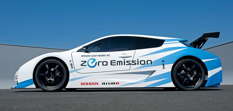 Nissan Leaf NISMO RC: elektrický závoďák: - fotka 13