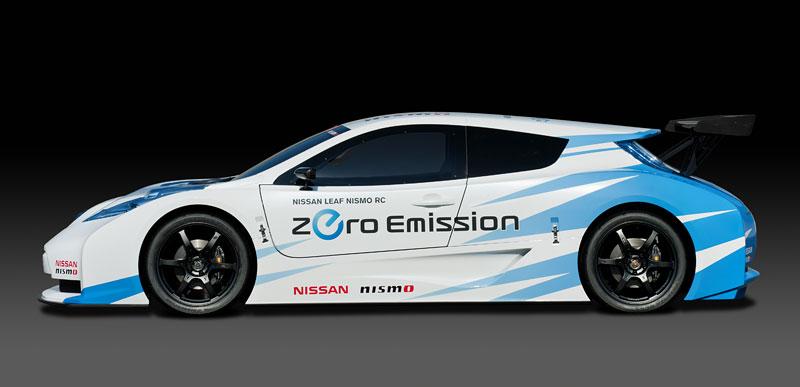 Nissan Leaf NISMO RC: elektrický závoďák: - fotka 14