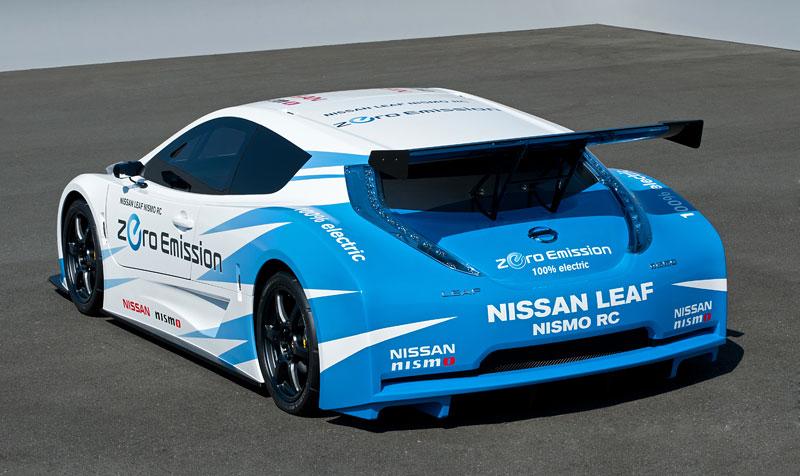 Nissan Leaf NISMO RC: elektrický závoďák: - fotka 16