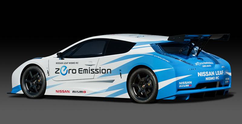 Nissan Leaf NISMO RC: elektrický závoďák: - fotka 17