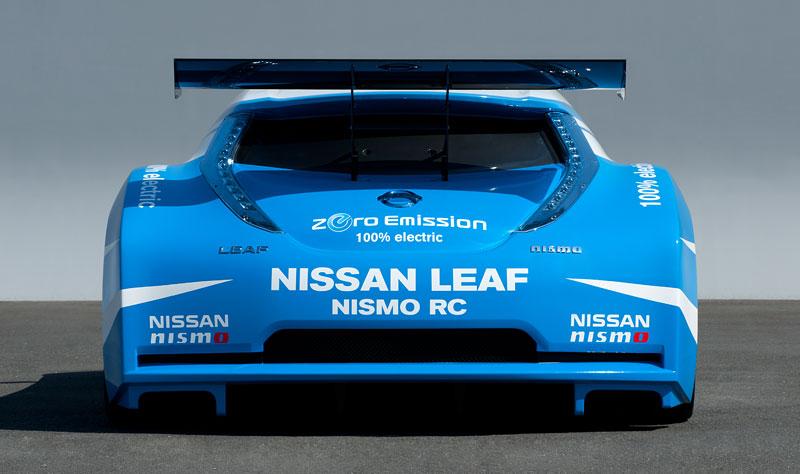 Nissan Leaf NISMO RC: elektrický závoďák: - fotka 18