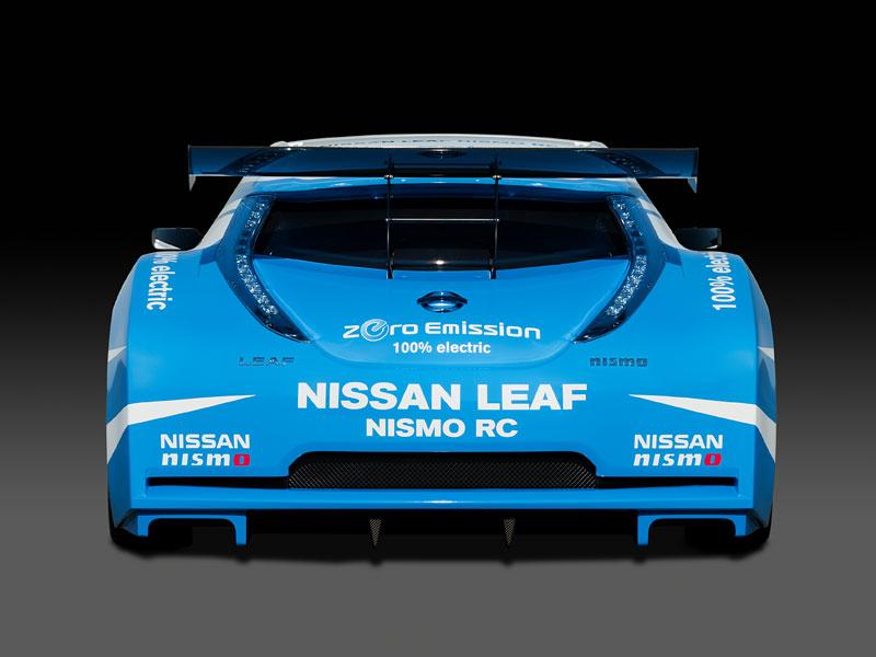Nissan Leaf NISMO RC: elektrický závoďák: - fotka 19