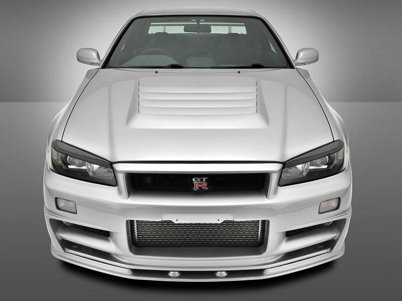 Nissan Skyline R34 GT-R: jako z fabriky: - fotka 4