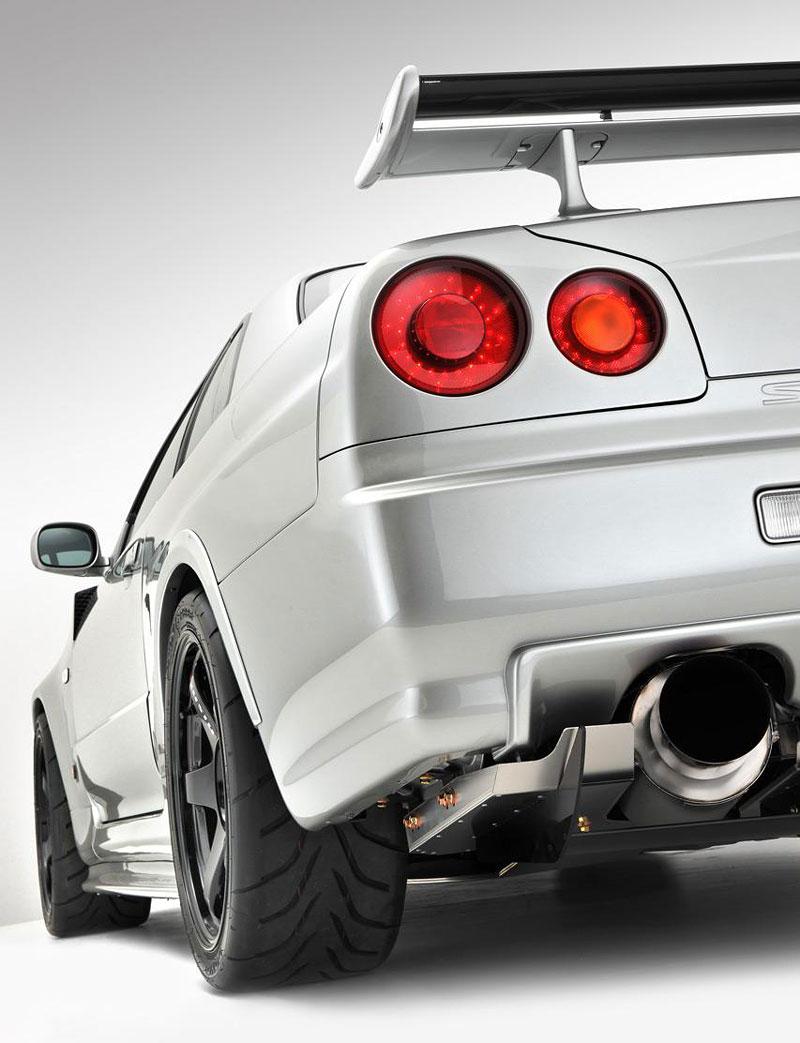 Nissan Skyline R34 GT-R: jako z fabriky: - fotka 10