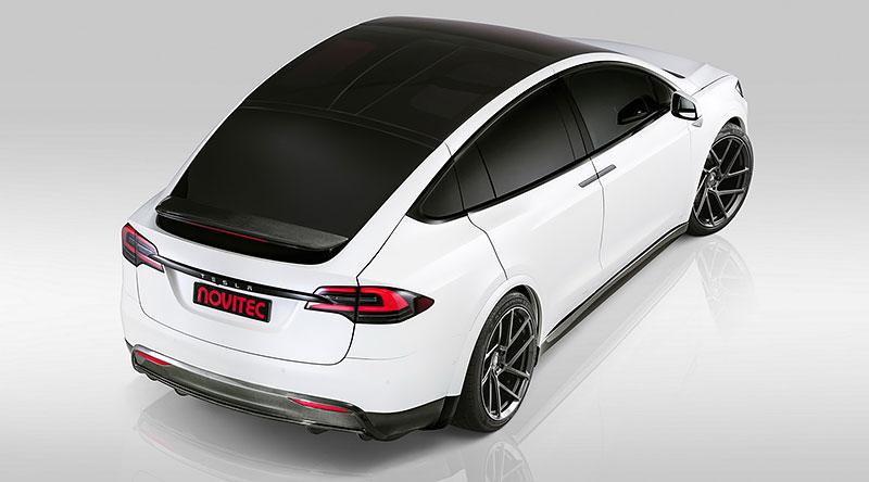 Novitec se nově pouští i do úprav elektromobilů značky Tesla: - fotka 18
