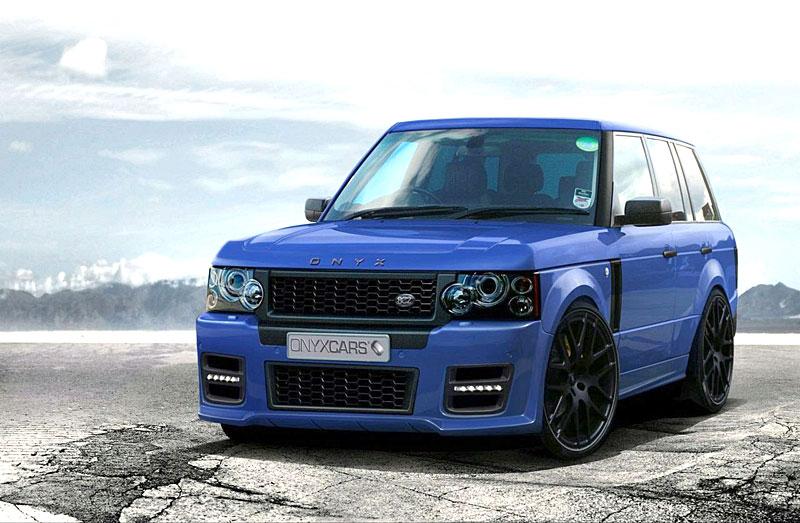 Range Rover Sport: extrémní bodykit od Onyx Concepts: - fotka 8
