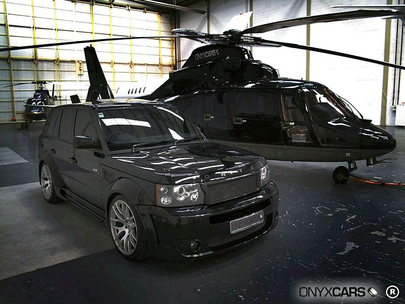Range Rover Sport: extrémní bodykit od Onyx Concepts: - fotka 17