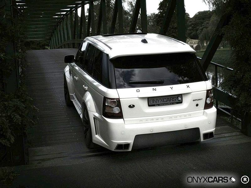 Range Rover Sport: extrémní bodykit od Onyx Concepts: - fotka 22
