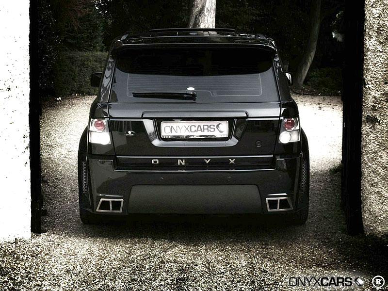 Range Rover Sport: extrémní bodykit od Onyx Concepts: - fotka 25