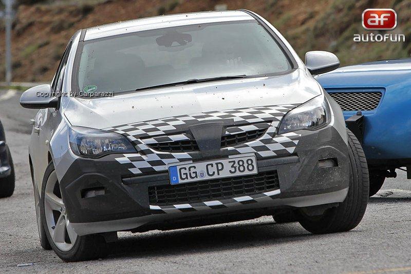 Spy Photos: Opel Astra GSI: - fotka 1