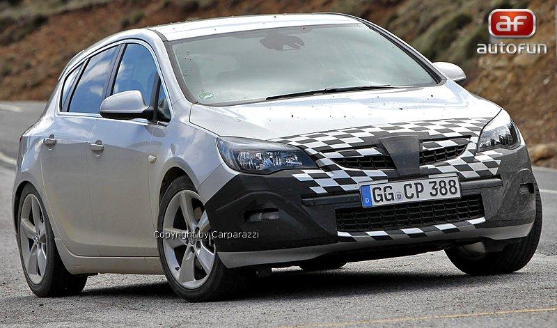 Spy Photos: Opel Astra GSI: - fotka 3