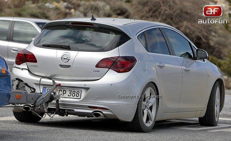 Spy Photos: Opel Astra GSI: - fotka 4