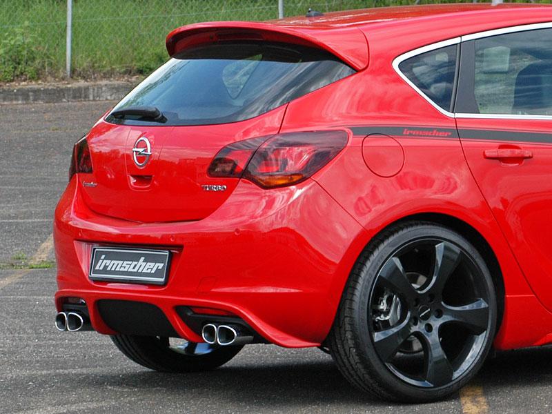 Irmscher Astra i1600: silnější, nižší, červená: - fotka 6