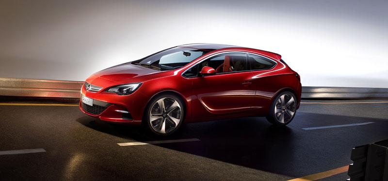 Opel Astra GTC Paris: velká fotogalerie a podrobnější info: - fotka 12