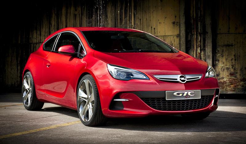 Opel Astra GTC Paris: velká fotogalerie a podrobnější info: - fotka 16