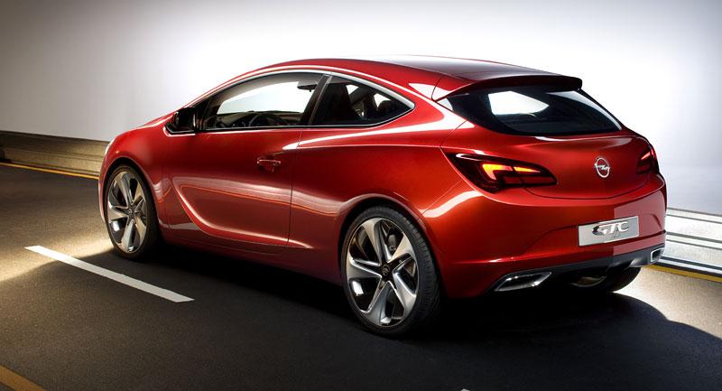 Opel Astra GTC Paris: velká fotogalerie a podrobnější info: - fotka 31