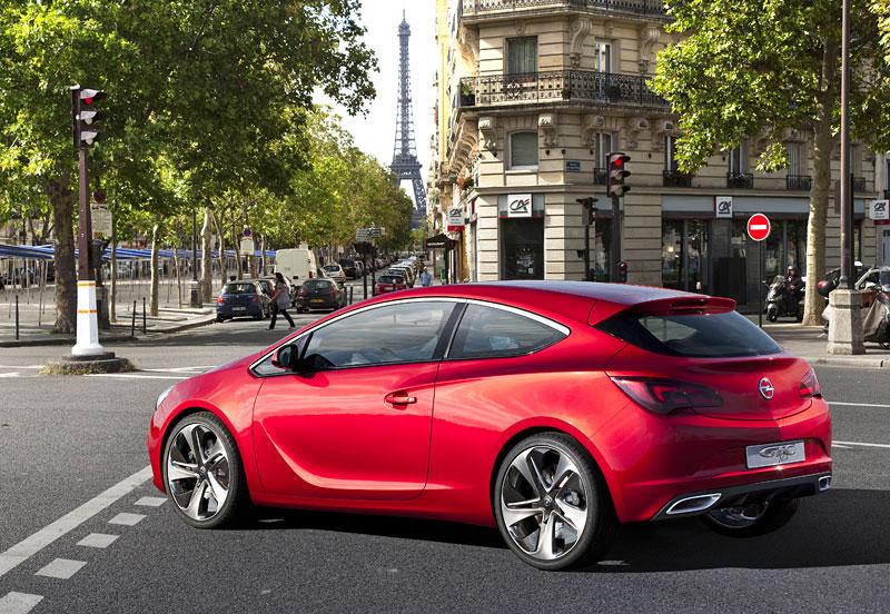 Opel Astra GTC Paris: velká fotogalerie a podrobnější info: - fotka 35