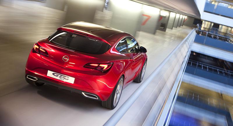 Opel Astra GTC Paris: velká fotogalerie a podrobnější info: - fotka 37