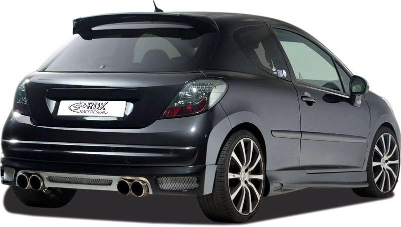 Peugeot 207: RDX Racedesign nabízí sadu spoilerů: - fotka 2