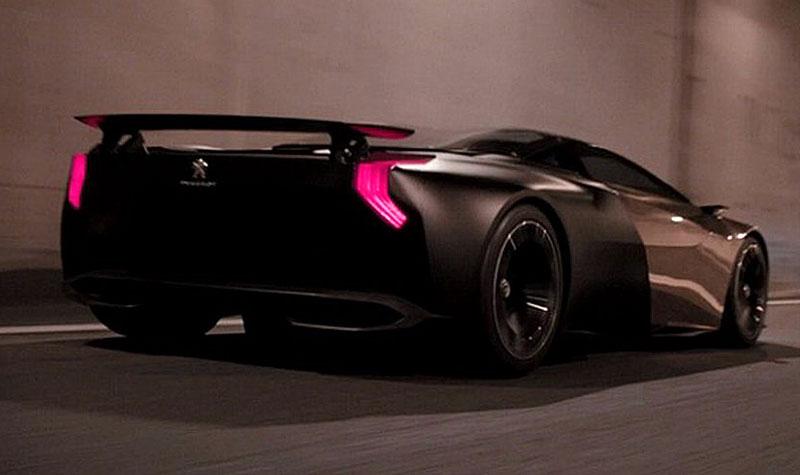 Peugeot Onyx: koncept dalšího francouzského supersportu: - fotka 3