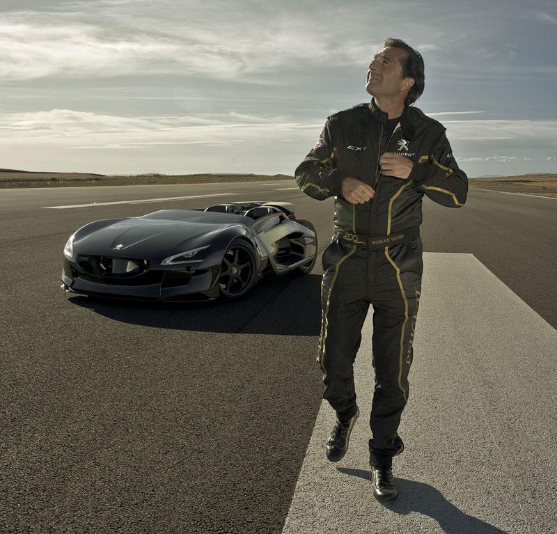 Elektrický Peugeot EX1: Nordschleife za 9 minut: - fotka 3