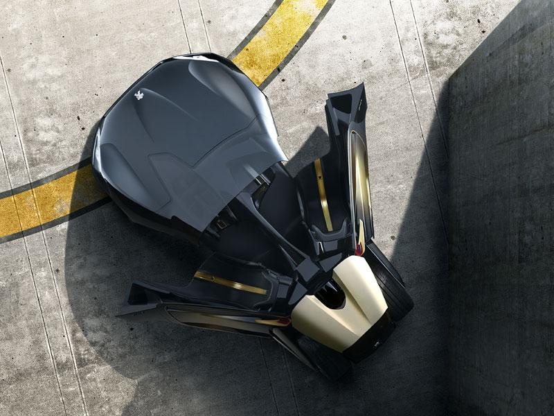 Elektrický Peugeot EX1: Nordschleife za 9 minut: - fotka 8