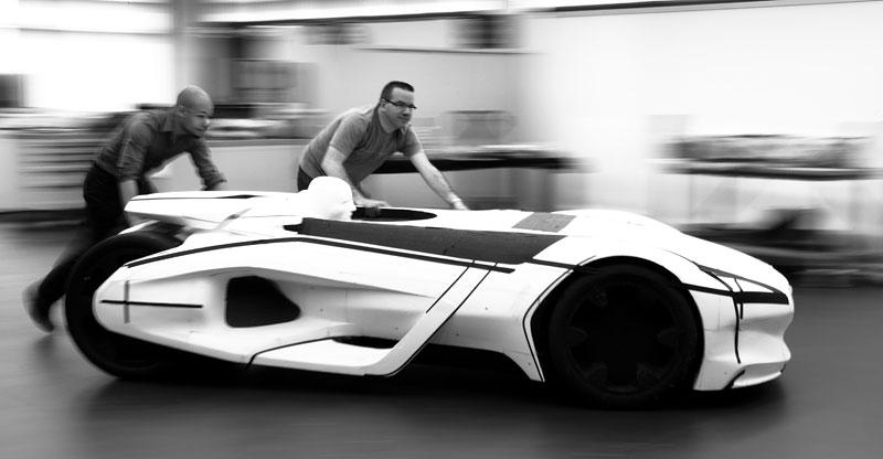 Elektrický Peugeot EX1: Nordschleife za 9 minut: - fotka 35
