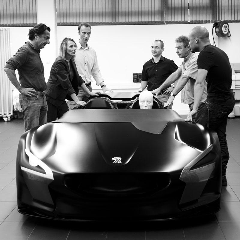 Elektrický Peugeot EX1: Nordschleife za 9 minut: - fotka 44