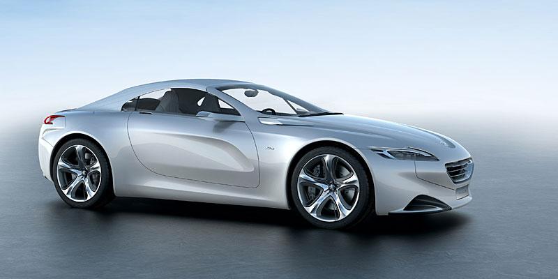 Koncept SR1: nová image Peugeotu přichází: - fotka 13