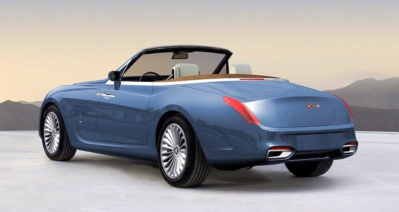 Pininfarina Hyperion - zaoblený Drophead Coupe pro dva: - fotka 13