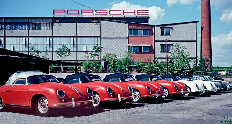 Porsche slaví 60 let výroby ve Stuttgart-Zuffenhausen: - fotka 3