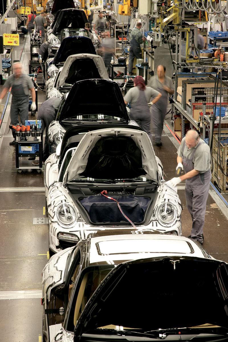 Porsche slaví 60 let výroby ve Stuttgart-Zuffenhausen: - fotka 8