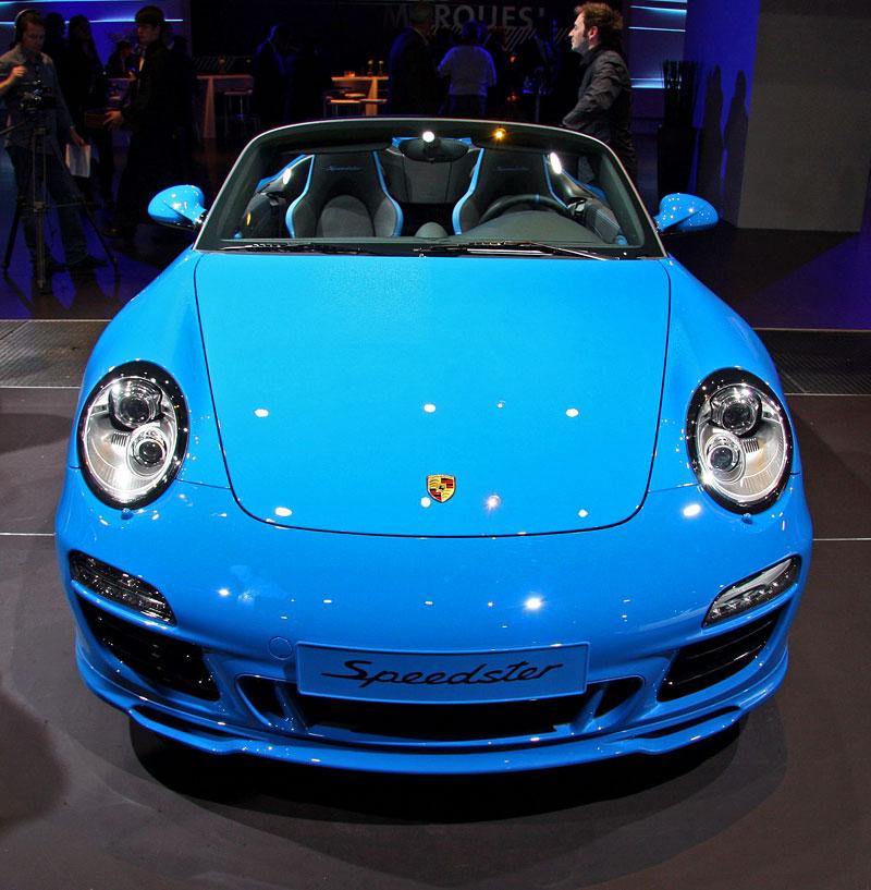 Paříž 2010 živě: Porsche 911 Speedster: - fotka 2